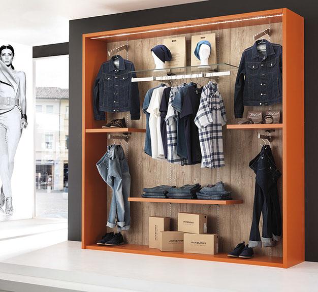 progetto, allestimento, arredamento per negozi di abbigliamento ... - Arredamento Per Negozio Di Abbigliamento